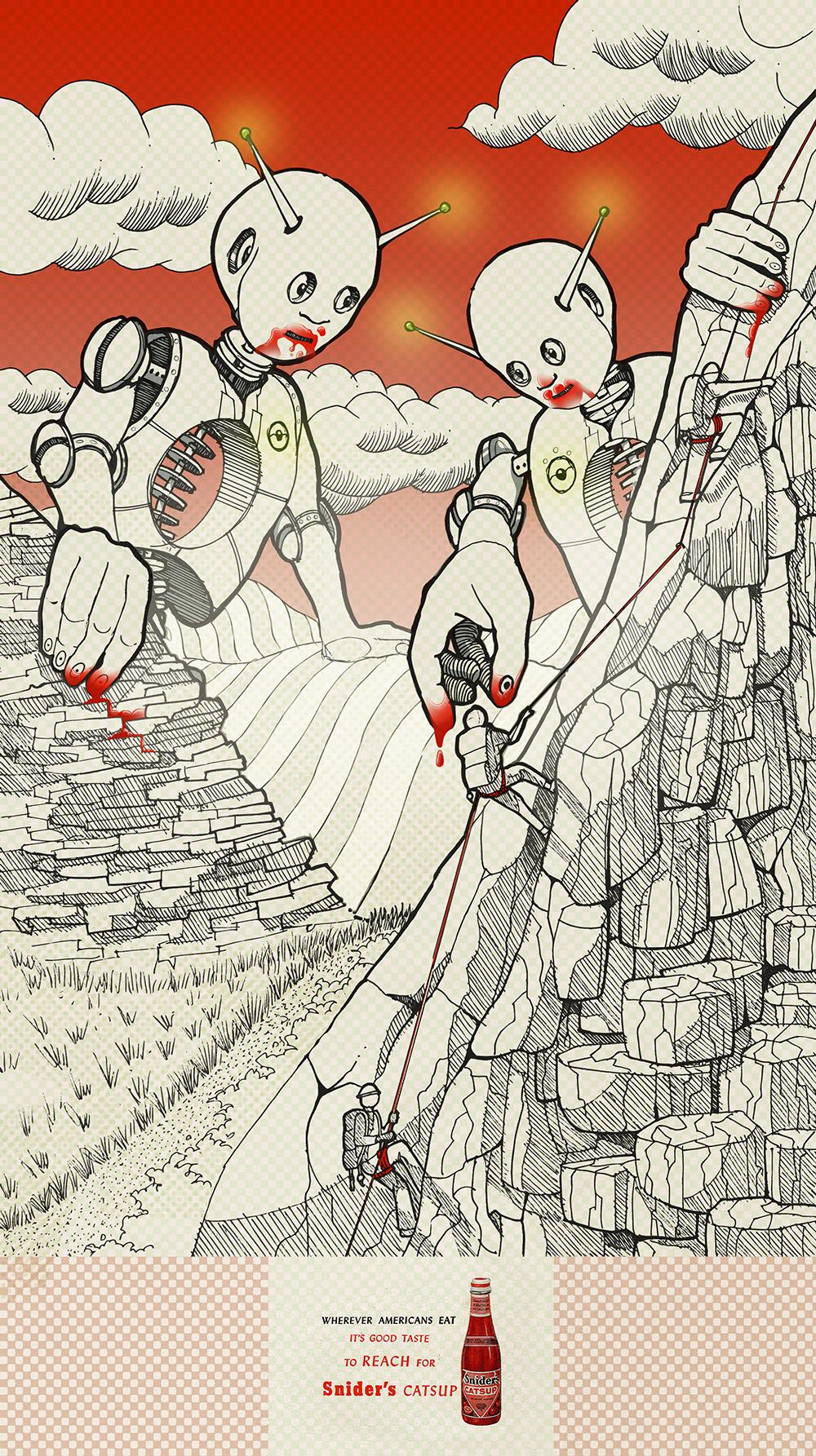 Pete Maric Sharpie Illustration