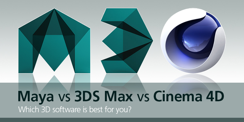 Maya vs 3DS Max vs Cinema 4D