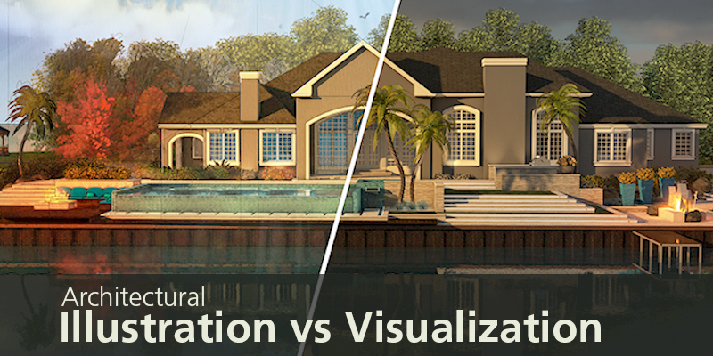 Architectural Illustration vs. Architectural Visualization