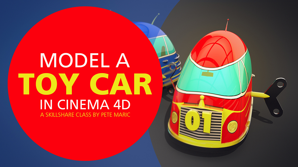 Model a Toy Car in Cinema 4D