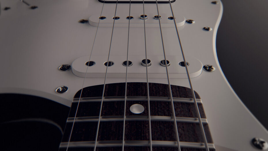 guitar product visualization