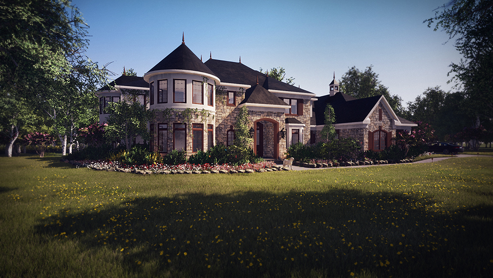 Private Residence 3D Render