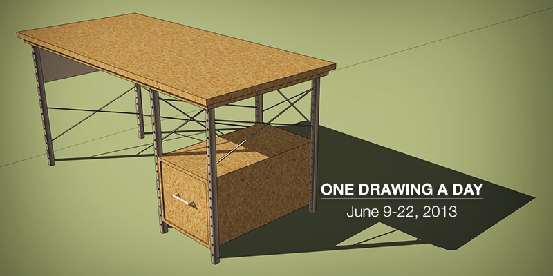 One Drawing a Day: SketchUp